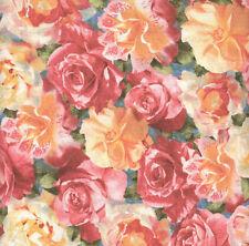 Roses & Magnolias Show Quilt Fabric - 1 Yard