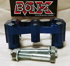 "BAR MOUNT HONDA CRF450R 2002-2020 CRF450X CRF450RX HANDLEBAR CLAMP 7/8"" 22mm BAR"