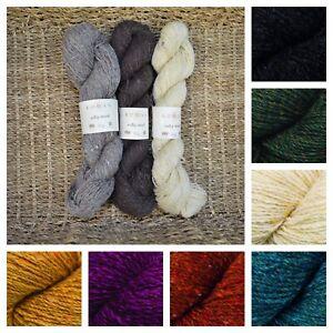 Rowan Valley Tweed 4ply British Knitting Yarn 100% Wool Sock 50g Skein
