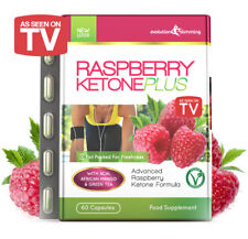 Raspberry Ketone PLUS Weight Loss 60 Capsules As Seen on TV *FAT BURNER*