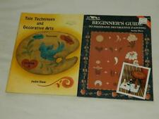 Tole Techniques & Decorative Arts 3 + Beginners Guide Freehand Painting Shaw