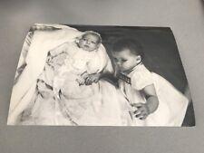 CAROLINE et ALBERT DE MONACO - PHOTO DE PRESSE ORIGINALE  21x27cm