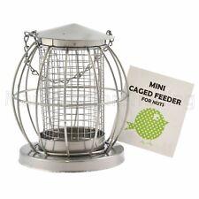BIRD Porta Mangime per dadi in gabbia in metallo MINI LANTERNA Scoiattolo resistente per Volatili Selvatici