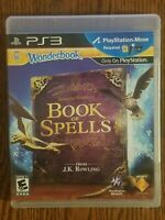 Sony Playstation 3 Wonderbook Miranda Goshawk Book of Spells No Manual Included
