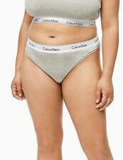 Calvin Klein Modern Cotton Plus Thong BriefQF5117E New Womens Knickers