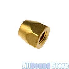NEW Brass Truss Rod Nut 10/32 thread Fits GIBSON® Guitar & Bass - Made in USA
