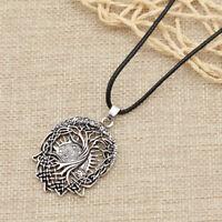 1pc Gothic Viking Totem Tree of Life Necklace Pendant Men Amulet Retro Jewelry