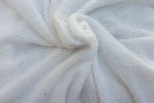 White Mohair Sweater Knit Fabric by the Yard 5/16  (Poncho, Scarf, Photography)
