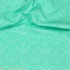 Baumwollstoff Mint 932 Baumwolle Stoffe Meterware Patchwork Popeline EN 71-3