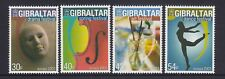GIBRALTAR 2003 EUROPA  Poster ART  set of 4 - MNH ..      REDUCED !!