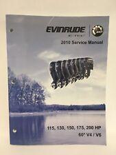 2010 Evinrude E-TEC 115 130 150 175 200HP - Service Repair Manual -w/CD-ROM