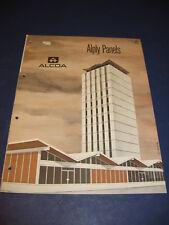 ALCOA 1965 Catalog Aluminum Co. of America Asbestos Panels