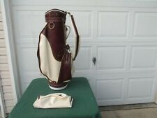 Daiwa Golf Cart Bag - 3 Way Divider with 7 Zipper Pockets & Rain Cover