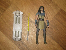 "Jedi Quinlan Vos. Star Wars Clone Wars 3.75"" Great Condition, Hasbro Retired"