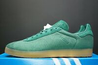 ADIDAS ORIGINALS GAZELLE TRAINERS GREEN / GUM SNEAKERS OG DS SHOES SIZE UK 6.5