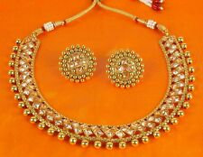 2121 Indian Bollywood Bridal Jewelry Ethnic Gold Plated Fashion Necklace Set