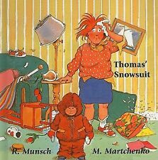 Thomas' Snowsuit (Munsch for Kids)-ExLibrary