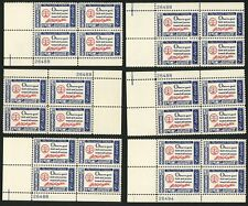 1960 4c US Postage Stamps Scott 1139 George Washington Credo Lot of 24