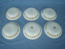 Corelle Golden Butterfly Fruit Bowls – 6 Pieces