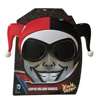 Harley Quinn Large Super Hero Shades Sun Stashes Costume Sun Glasses Shark Tank