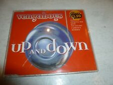 VENGABOYS - Up And Down - 1998 UK 3-track CD single