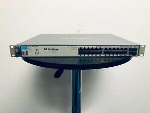 HP ProCurve Switch 2910al-24G 24 Port Gigabit +2 10GbE CX4 Port Modules - J9145A
