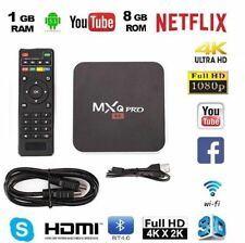 MXQ PRO 4K IPTV BOX Smart XBMC Android 6.0 Penta Core WiFi 8GB MiniPC 64bit NEW