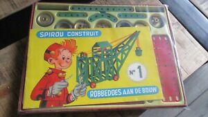Spirou-Ancien jeu Meccano-Spirou construit-N01-1971