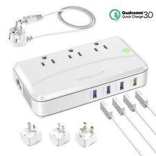 220V to 110V Step Down Travel Voltage Converter Adapter International UK/AU/EU