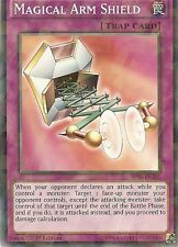 YU-GI-OH: MAGICAL ARM SHIELD - SHATTER FOIL RARE - BP03-EN201 - 1st EDITION