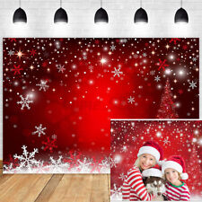 Christmas Snowflake Party Backdrop Photography Photo Background Studio Props