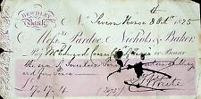 More details for bewdley bank handwritten cheque 1825 local history worcestershire finance unusua