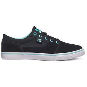 DC Shoes Tonik W Low Top Damen Sneaker Schuhe Black Aqua Profil Skateschuh Neu