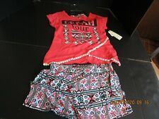 One Step up 2 Piece children's clothing female Size 7/8 and  10-12 month