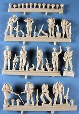 Milicast FIG093 1/76 Resin WWII British Landing Force Disembarking