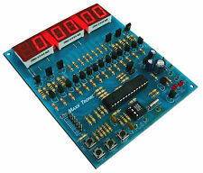 Digital Clock / Stopwatch 6 Digit LED Seven Segment Display 12VDC [MXA070]