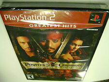 Pirates of the Caribbean: The Legend of Jack Sparrow (PlayStation 2) BRAND NEW