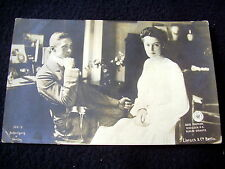 VERY OLD PPC~ca 1904~WILHELM VON PREUSSEN & CROWNPRINCESS CECILIE~LIERSCH & CO