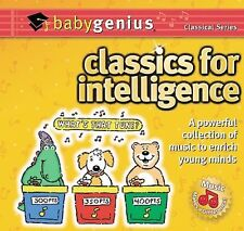 Classics for Intelligence - Baby Genius  Audio CD Buy 3 Get 1 Free