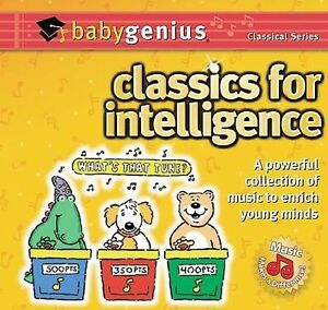 Baby Genius: Classics for Intelligence by Genius Products (CD, May-1999, ITM Rec