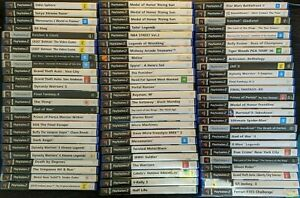 PS2 Playstation 2 Games - Select from Drop Down Box - Free Postage - Rare