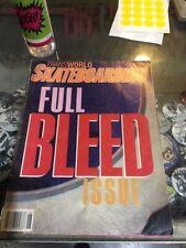Transworld Skateboarding Magazine June 1985 Gator Kevin Staab 6/85 Jun