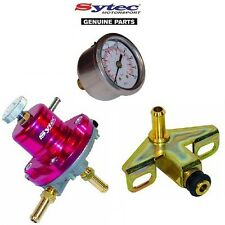 SYTEC FUEL PRESSURE REGULATOR KIT + FUEL GAUGE BMW E30 318i 320i 323i 325i M3 Z1