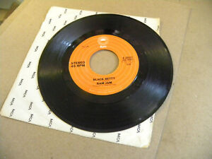 1977 Epic 8-50357 45 RPM Single RAM JAM Black Betty & I Should Have Known wg