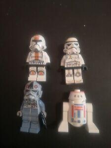 Lego Starwars Minifigure Lot