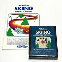 Activision Skiing Atari 2600 Video Game Cartridge 1980 Vintage Tested