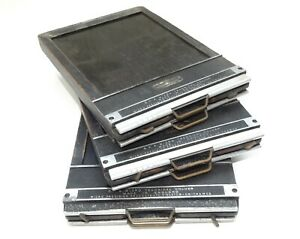 Set of 3 MPP 4x5 Cut Film Holders - Made in England - Bargain Price!