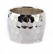Bat-Ami Sterling Silver Wide Bracelet Bangle BR2973