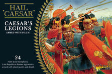CAESAR'S LEGIONS ARMED WITH PILUM - HAIL CAESAR - WARLORD GAMES - 1ST CLASS