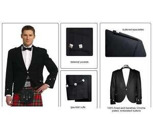 Ex Hire 100% Wool Handmade ARGYLL Kilt Jacket